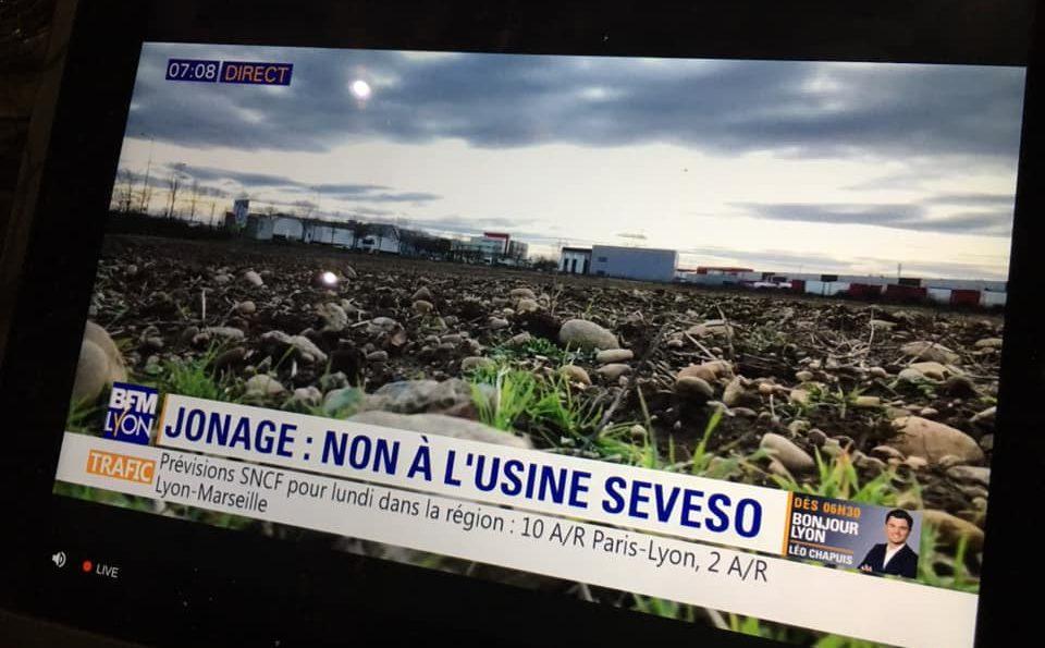 Vidéo. À Jonage, les habitants s'opposent à l'implantation d'un nouveau site SEVESO – BFM Lyon