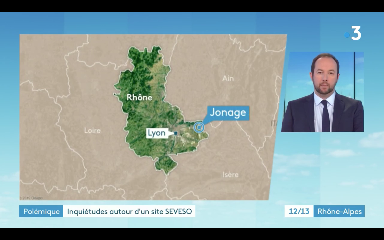 Vidéo. France 3 Rhône-Alpes Journal régional – 07/02/2020