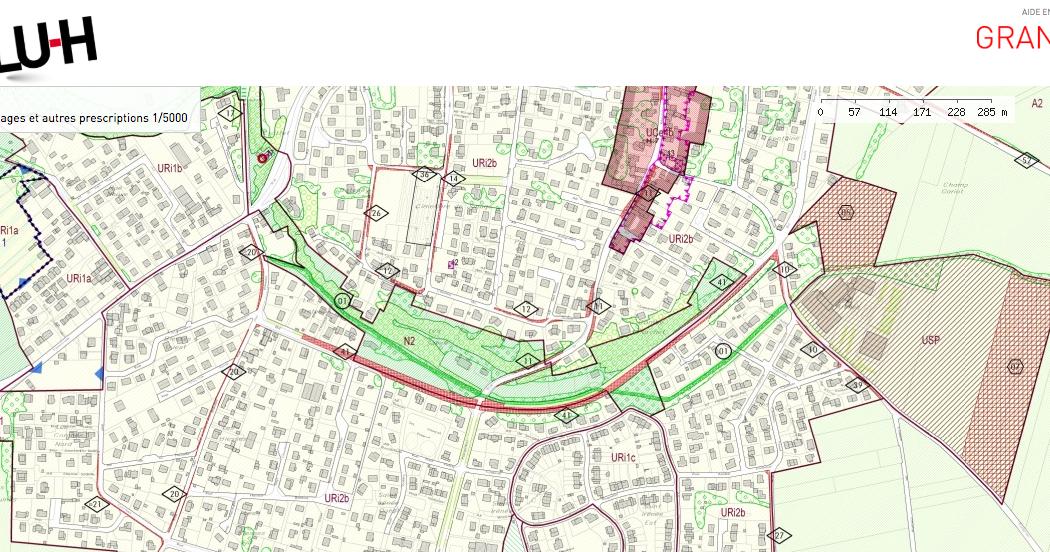 Suivi des espaces boisés classés à Jonage – Mise à jour 06 Juin 2020