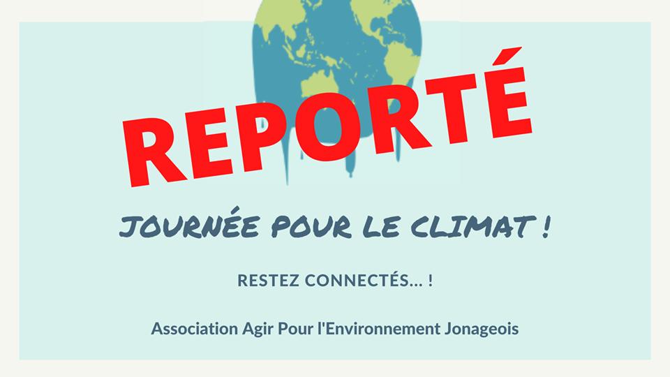 REPORT // Journée pour le climat à Jonage le 14 mars 2020