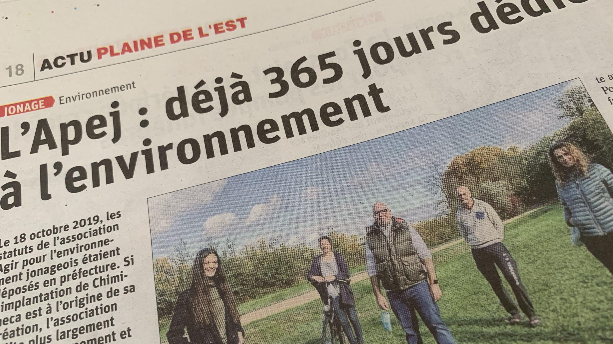 Article. Le Progrès – 30/10/2020